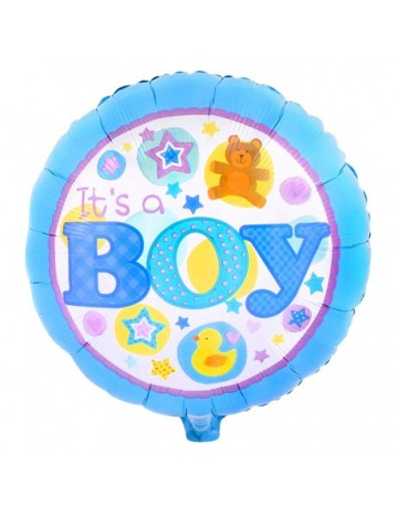 It's a Boy Foil Balloon