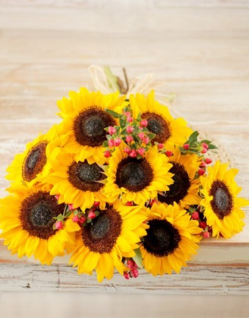 Bouquet of Sunflowers for Mothers Day