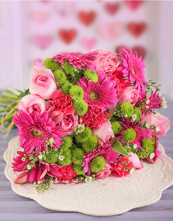 Pink Flower Bouquet in Durban, South Africa | Durban Florist