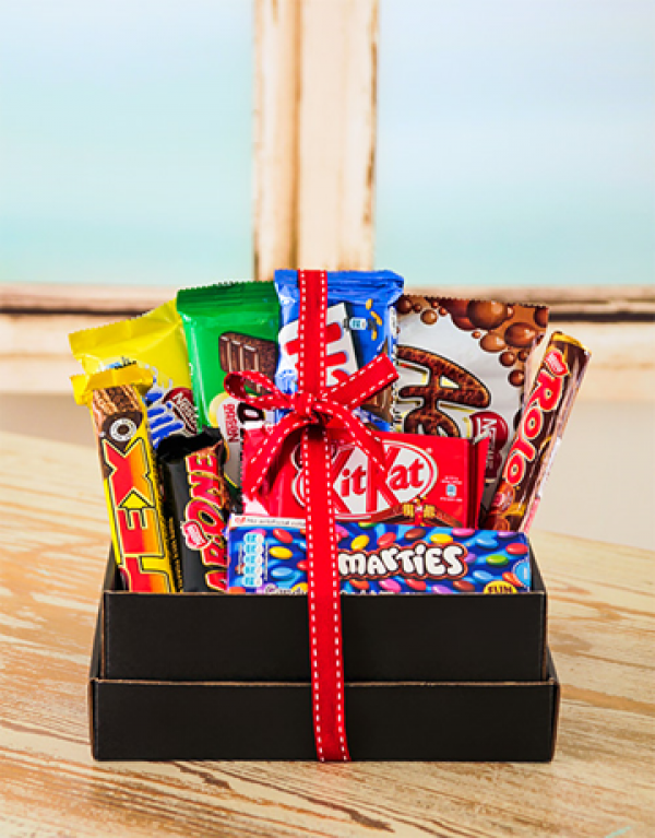 Baby Gift Basket South Africa : Nestle chocolate hamper durban florist