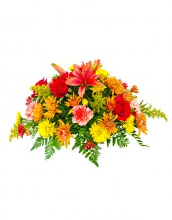 Coffin Spray Funeral Arrangement