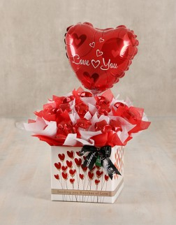 Love is in the Air Edible Arrangement