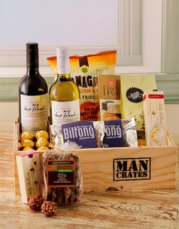 Man Crate Gourmet Hamper South Africa