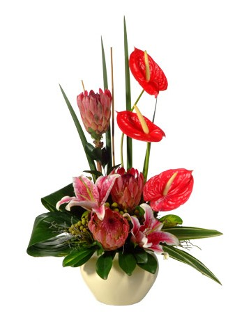 Modern Flower Arrangement in Durban