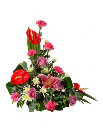 Traditional Upright Flower Arrangement in Durban