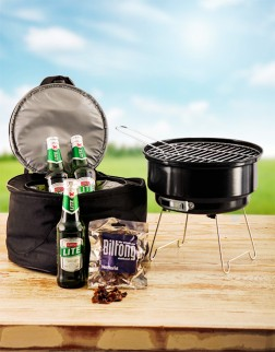 Mini Braai Kit with Beers