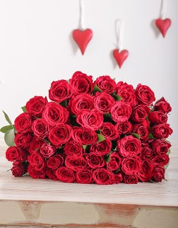 Valentines Day Red Rose Bouquet